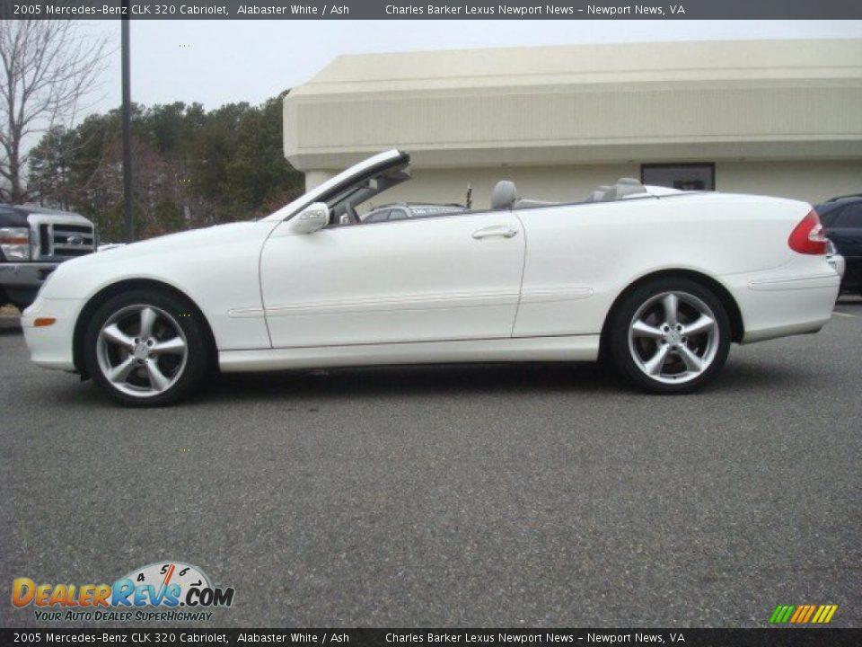 2005 mercedes benz clk 320 cabriolet alabaster white ash photo 3. Black Bedroom Furniture Sets. Home Design Ideas