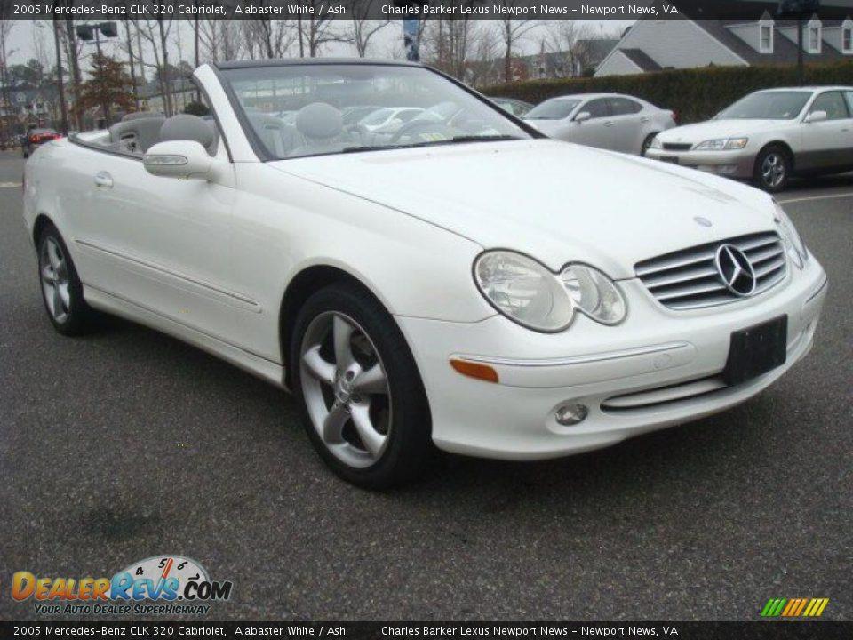 2005 mercedes benz clk 320 cabriolet alabaster white ash for 2005 mercedes benz clk 320