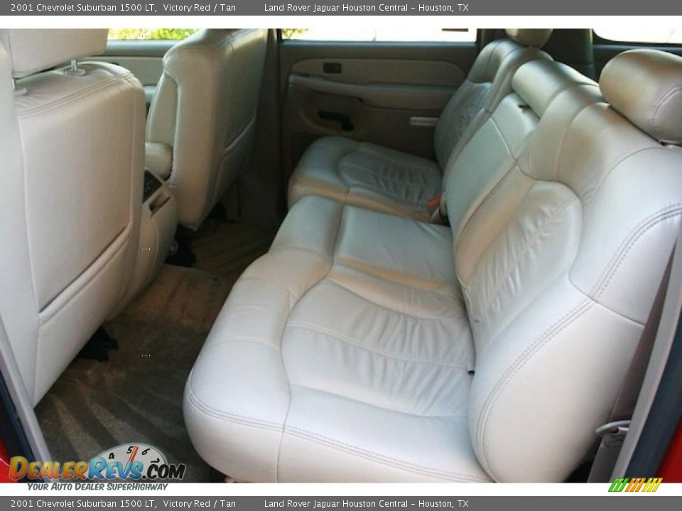 tan interior 2001 chevrolet suburban 1500 lt photo 4. Black Bedroom Furniture Sets. Home Design Ideas