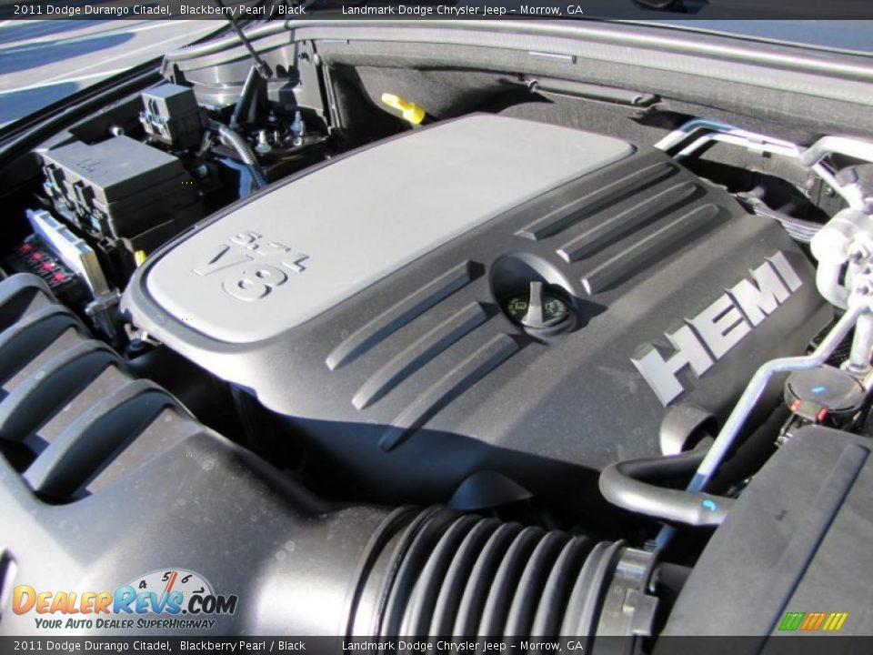 2011 Dodge Durango Citadel 5 7 Liter Hemi Ohv 16 Valve Vvt