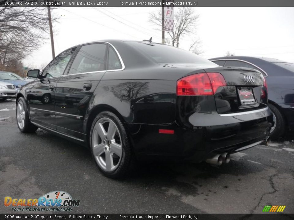 2006 Audi A4 2 0t Quattro Sedan Brilliant Black Ebony