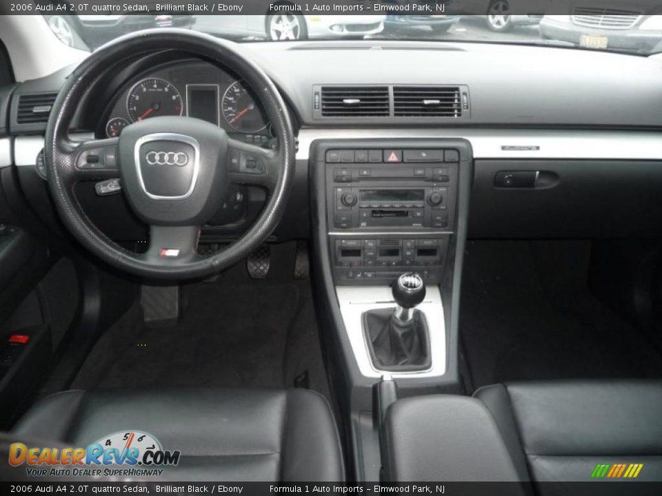 Dashboard Of 2006 Audi A4 2 0t Quattro Sedan Photo 10