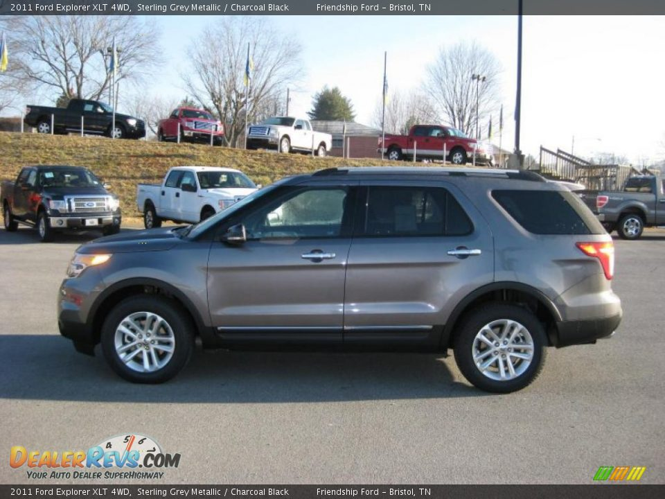 2011 ford explorer xlt 4wd sterling grey metallic. Black Bedroom Furniture Sets. Home Design Ideas
