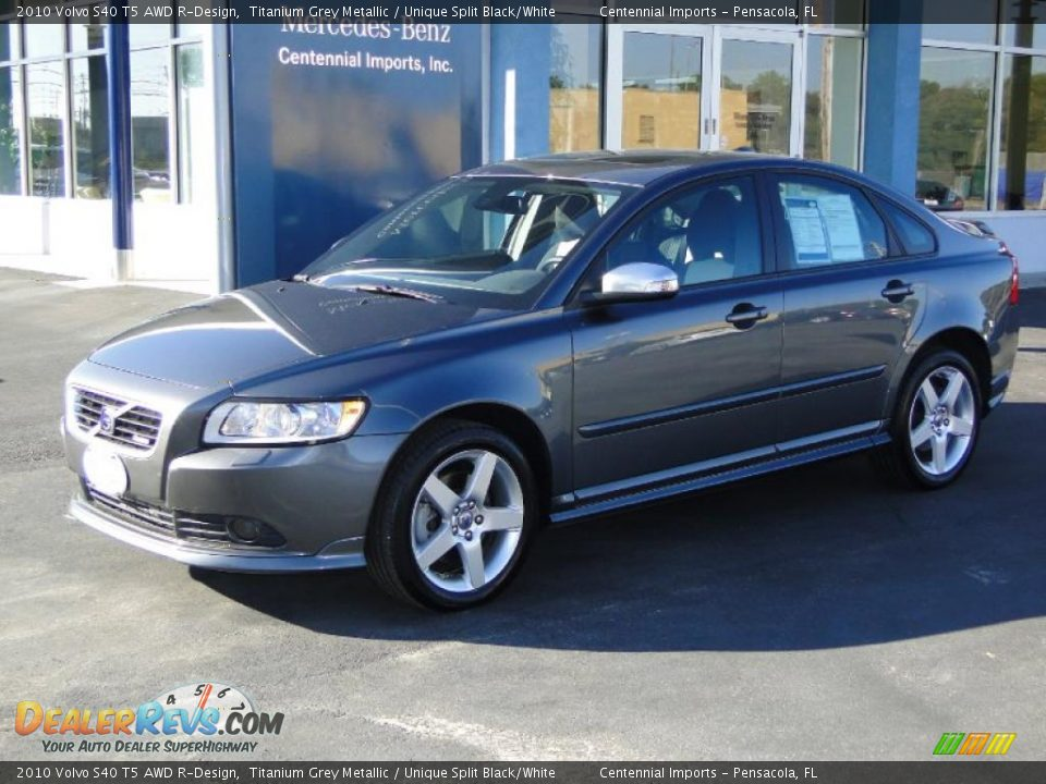 2010 volvo s40 t5 awd r design titanium grey metallic. Black Bedroom Furniture Sets. Home Design Ideas