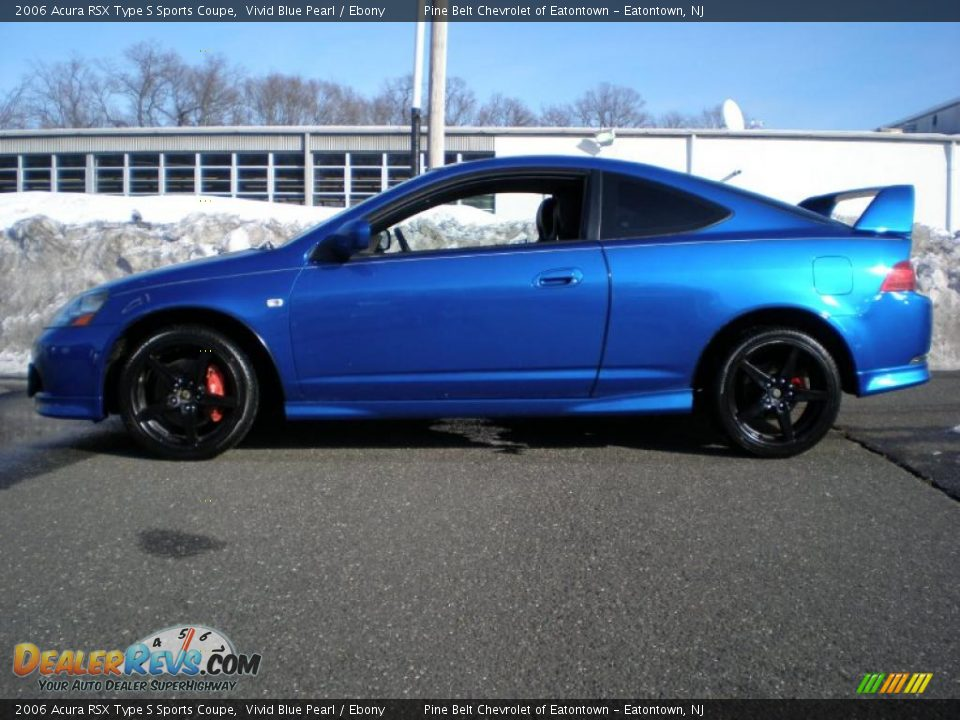 Vivid Blue Pearl 2006 Acura RSX Type S Sports Coupe Photo #4 ...
