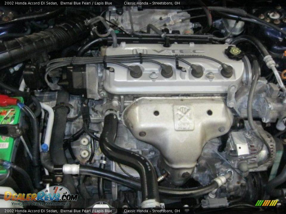 2002 honda accord ex sedan 2 3 liter sohc 16 valve vtec 4 cylinder engine photo 7. Black Bedroom Furniture Sets. Home Design Ideas