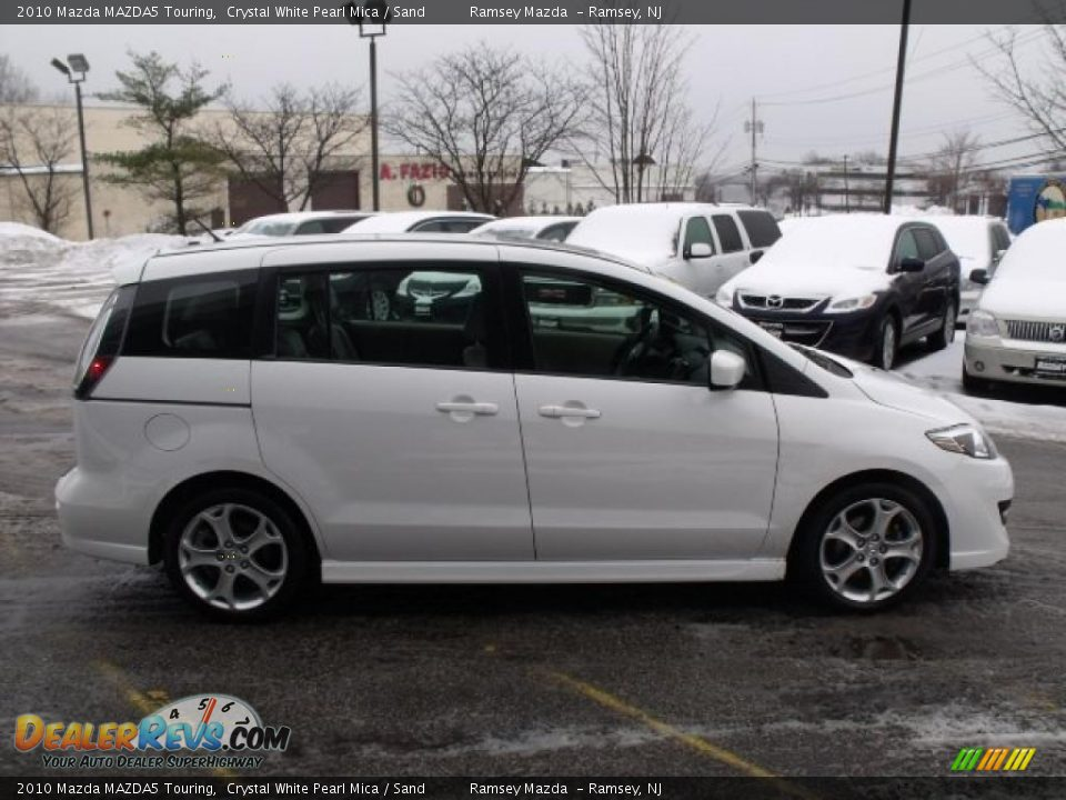Crystal White Pearl Mica 2010 Mazda Mazda5 Touring Photo