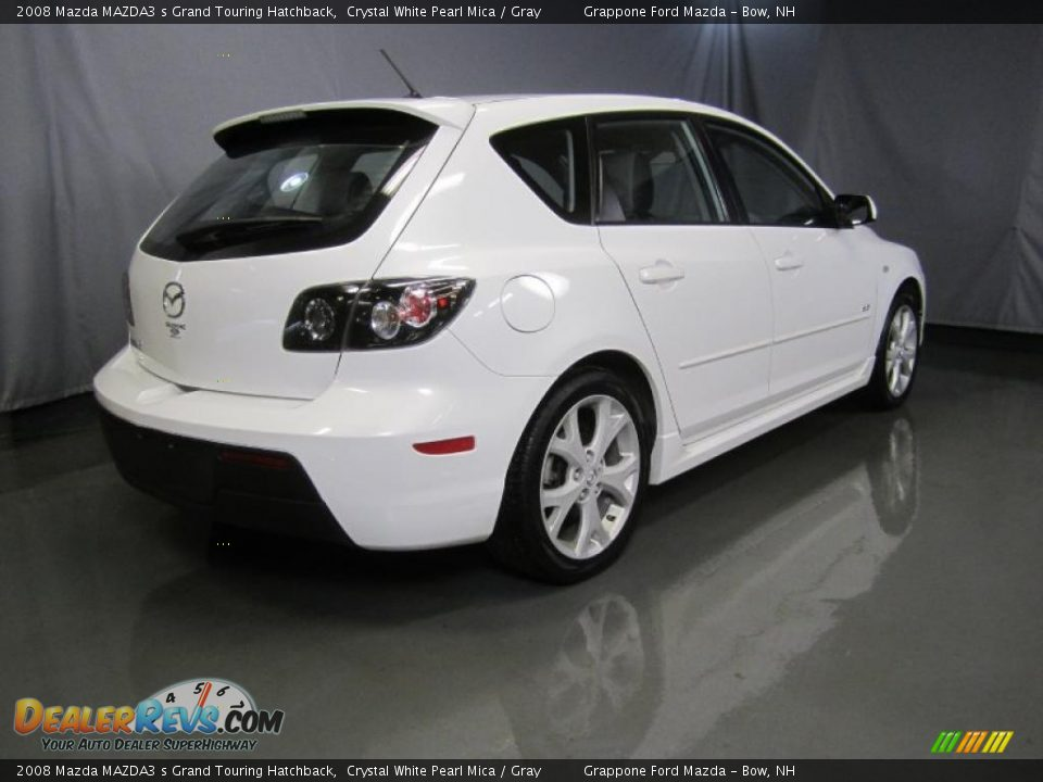 2008 mazda mazda3 s grand touring hatchback crystal white. Black Bedroom Furniture Sets. Home Design Ideas