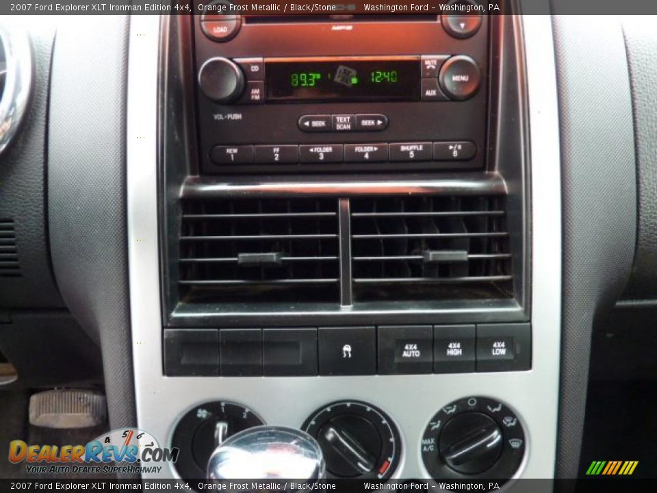 Controls of 2007 Ford Explorer XLT Ironman Edition 4x4 ...