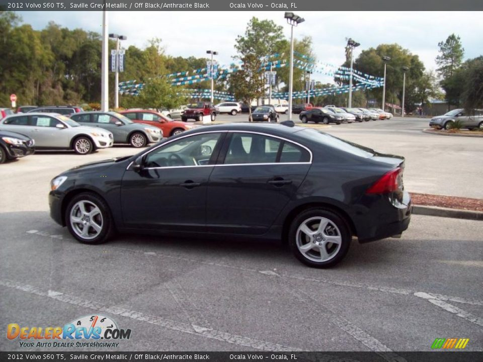 2012 volvo s60 t5 saville grey metallic off black anthracite black photo 5. Black Bedroom Furniture Sets. Home Design Ideas