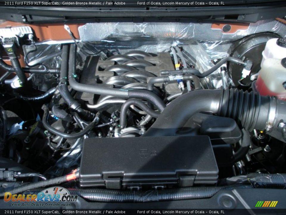 2011 ford f150 xlt supercab 5 0 liter flex fuel dohc 32 for Motor ford f150 v8
