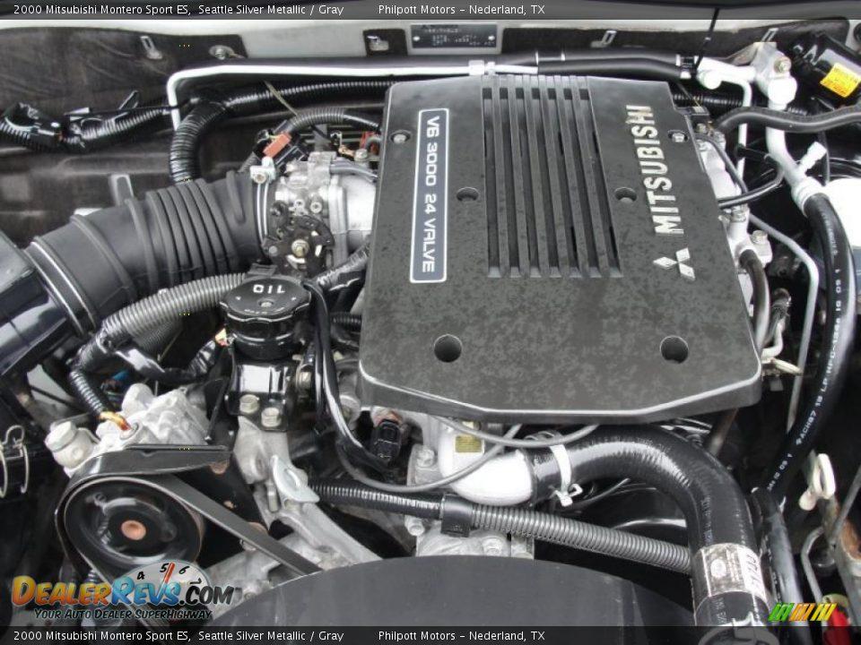 2000 Mitsubishi Montero Sport ES 3.0 Liter SOHC 24-Valve ...