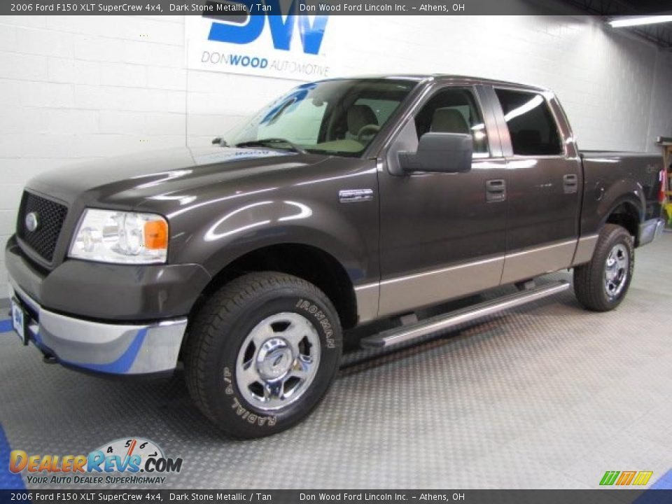 2006 ford f150 xlt supercrew 4x4 dark stone metallic tan. Black Bedroom Furniture Sets. Home Design Ideas