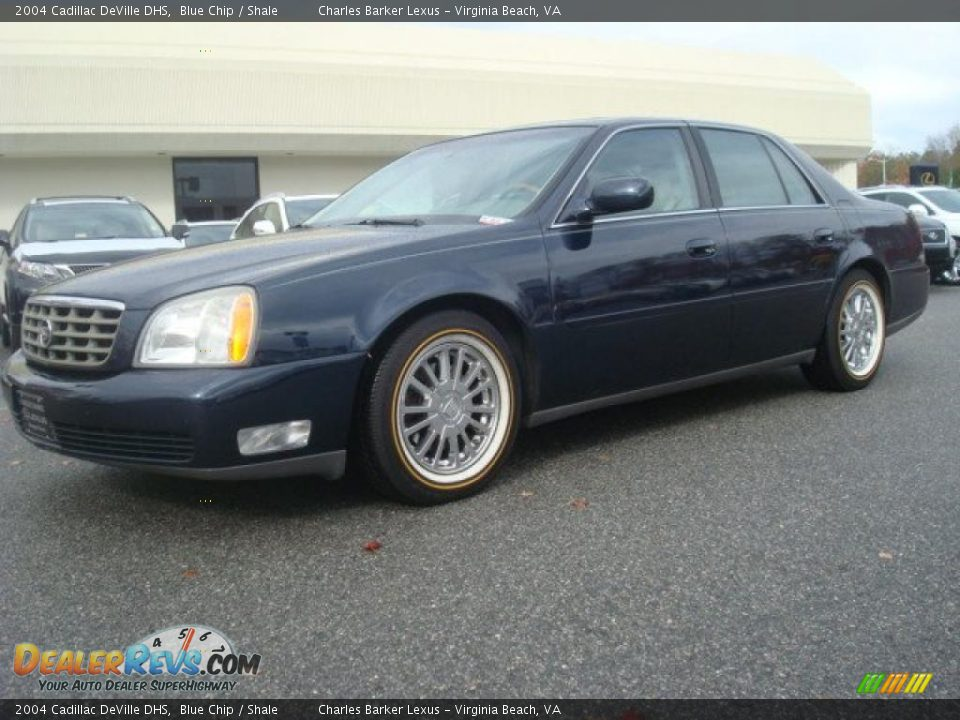 2004 cadillac deville dhs blue chip shale photo 2. Cars Review. Best American Auto & Cars Review