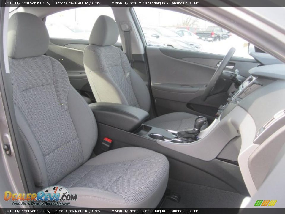 Gray Interior 2011 Hyundai Sonata Gls Photo 17