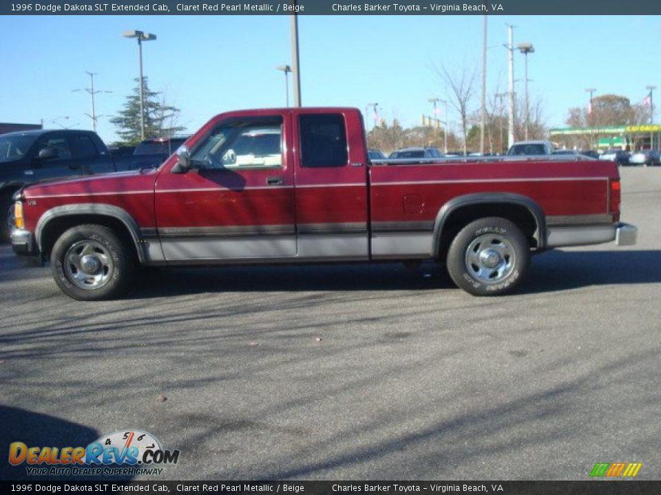 1996 Dodge Dakota Slt Extended Cab Claret Red Pearl