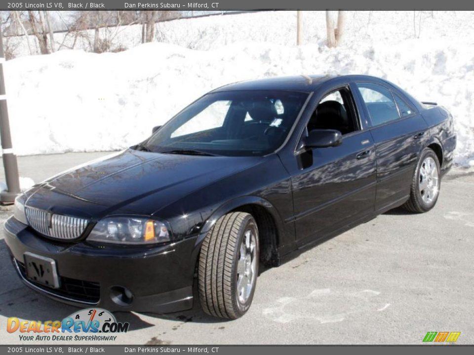 2005 Lincoln Ls V8 >> 2005 Lincoln Ls V8 Black Black Photo 1 Dealerrevs Com