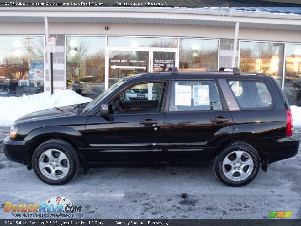 2004 Subaru Forester 25 Xs Java Black Pearl Gray Photo 1