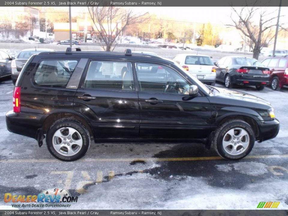2004 Subaru Forester 25 Xs Java Black Pearl Gray Photo 5