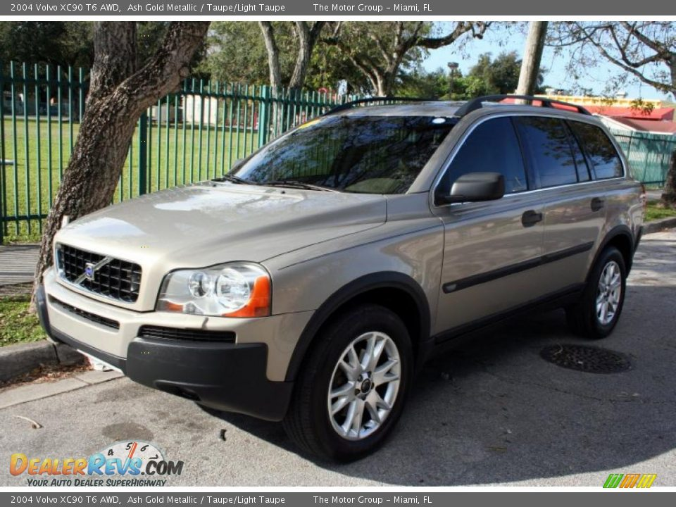 2004 volvo xc90 t6 awd ash gold metallic taupe light taupe photo 1. Black Bedroom Furniture Sets. Home Design Ideas