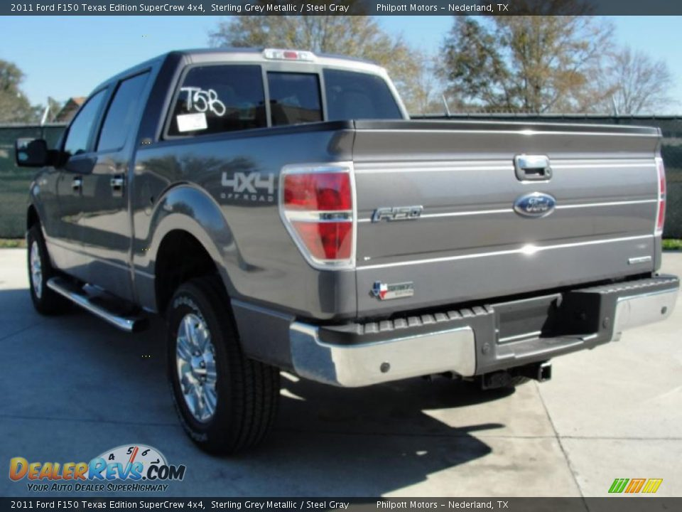 2011 Ford F150 Texas Edition Supercrew 4x4 Sterling Grey