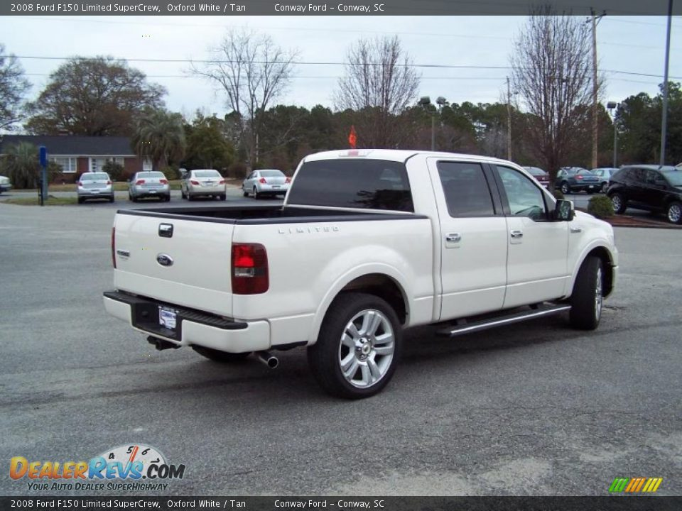 Oxford White 2008 Ford F150 Limited SuperCrew Photo #5 | DealerRevs ...