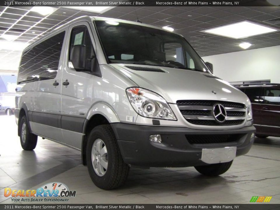 Brilliant Silver Metallic 2011 Mercedes Benz Sprinter 2500