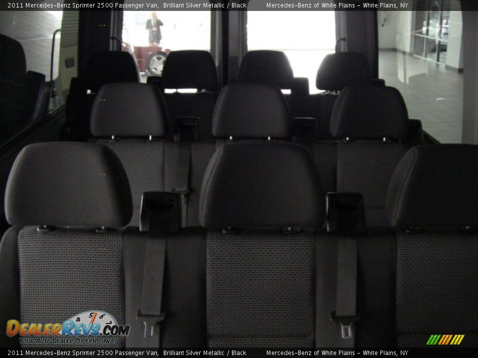 Black Interior 2011 Mercedes Benz Sprinter 2500
