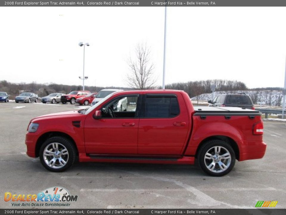 2008 ford explorer sport trac adrenalin 4x4 colorado red dark charcoal photo 6. Black Bedroom Furniture Sets. Home Design Ideas
