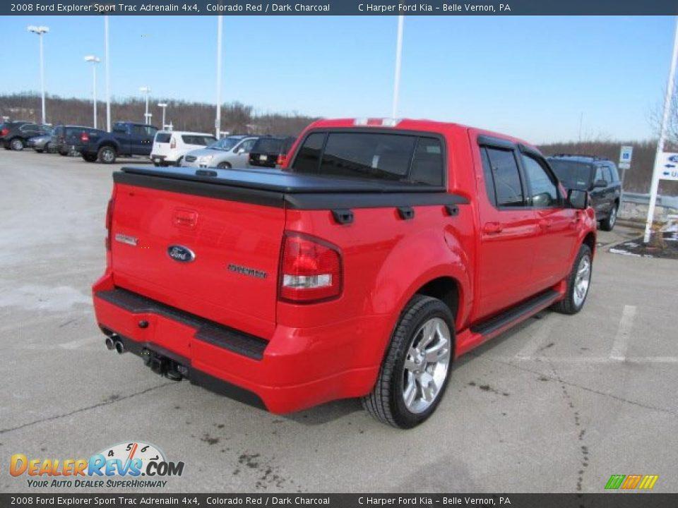 2008 ford explorer sport trac adrenalin 4x4 colorado red dark charcoal photo 10. Black Bedroom Furniture Sets. Home Design Ideas