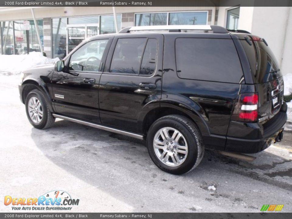 2008 ford explorer limited 4x4 black black photo 4 dealerrevs com