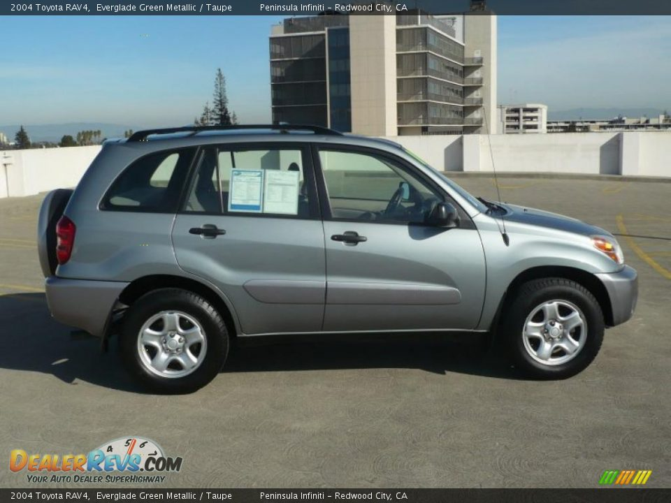 2004 toyota rav4 everglade green metallic taupe photo 8. Black Bedroom Furniture Sets. Home Design Ideas
