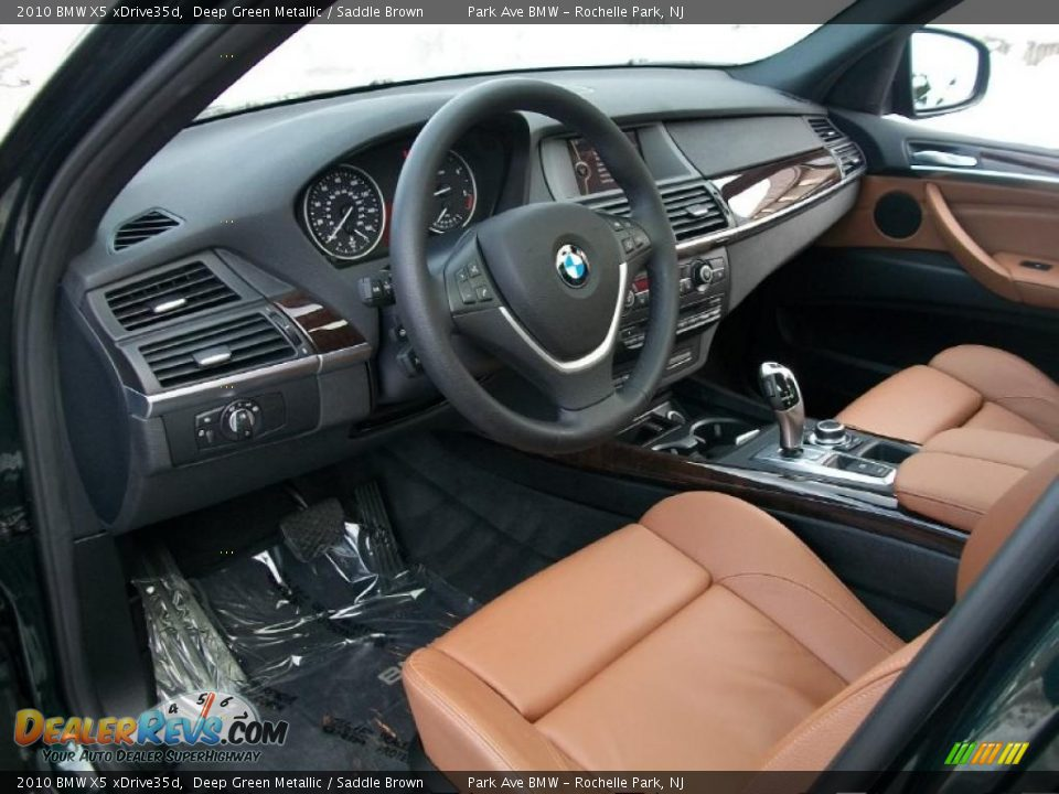saddle brown interior 2010 bmw x5 xdrive35d photo 10. Black Bedroom Furniture Sets. Home Design Ideas