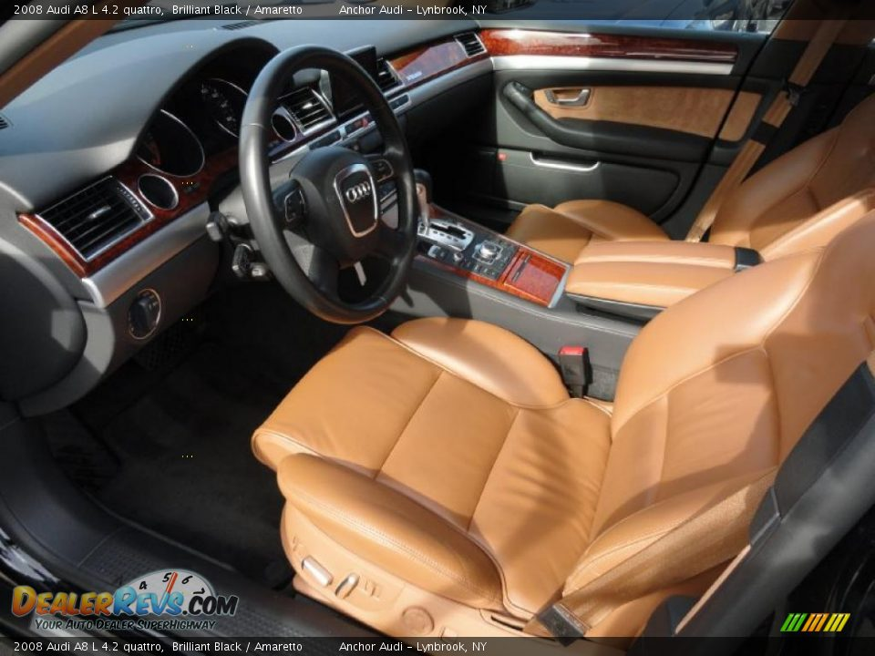 Amaretto Interior - 2008 Audi A8 L 4.2 quattro Photo #11 | DealerRevs ...