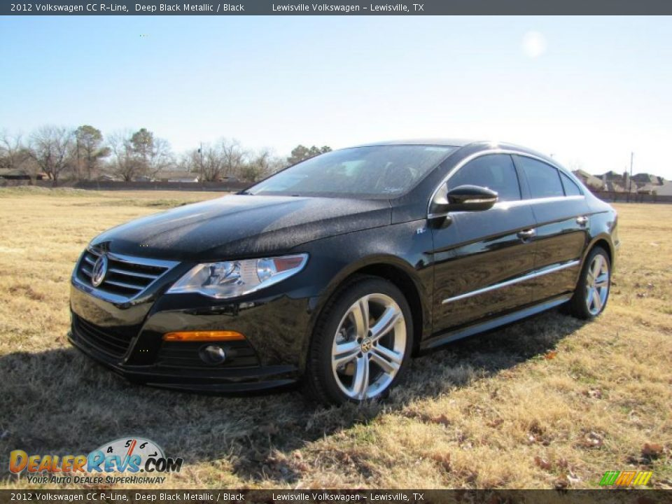 2012 volkswagen cc r line deep black metallic black photo 1. Black Bedroom Furniture Sets. Home Design Ideas
