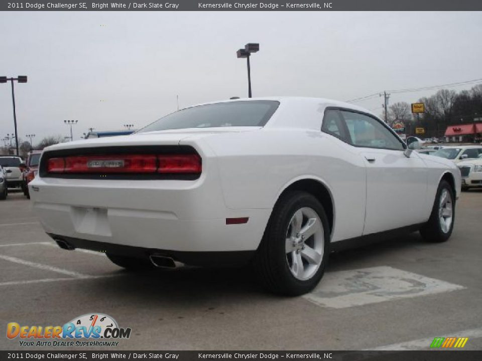 Bright White 2011 Dodge Challenger Se Photo 3