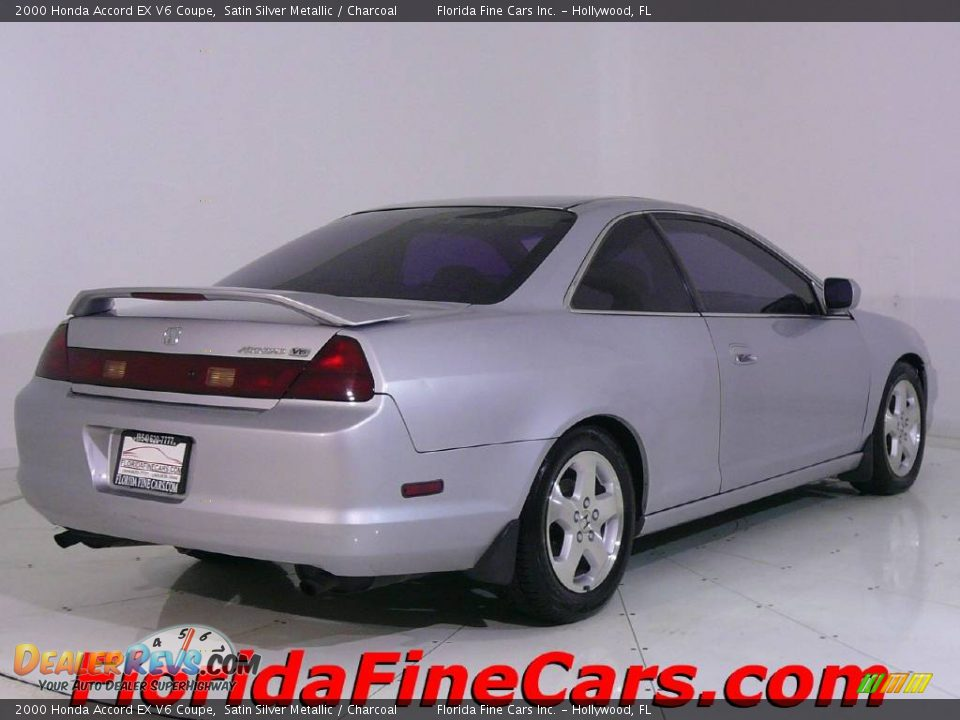 2000 Honda Accord EX V6 Coupe Satin Silver Metallic ...