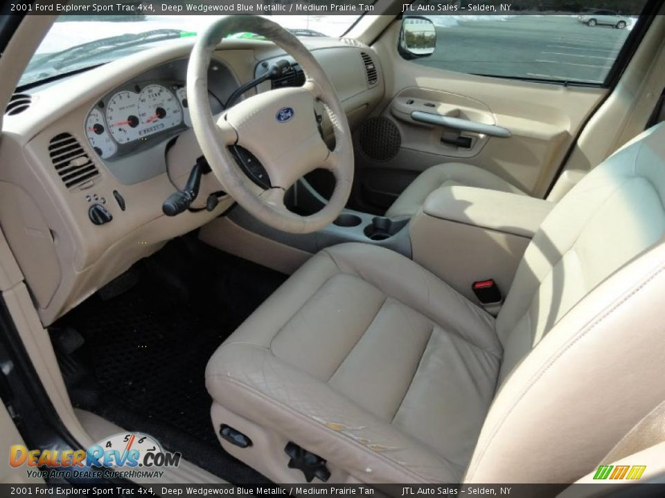 Medium prairie tan interior 2001 ford explorer sport - Ford explorer sport trac interior parts ...