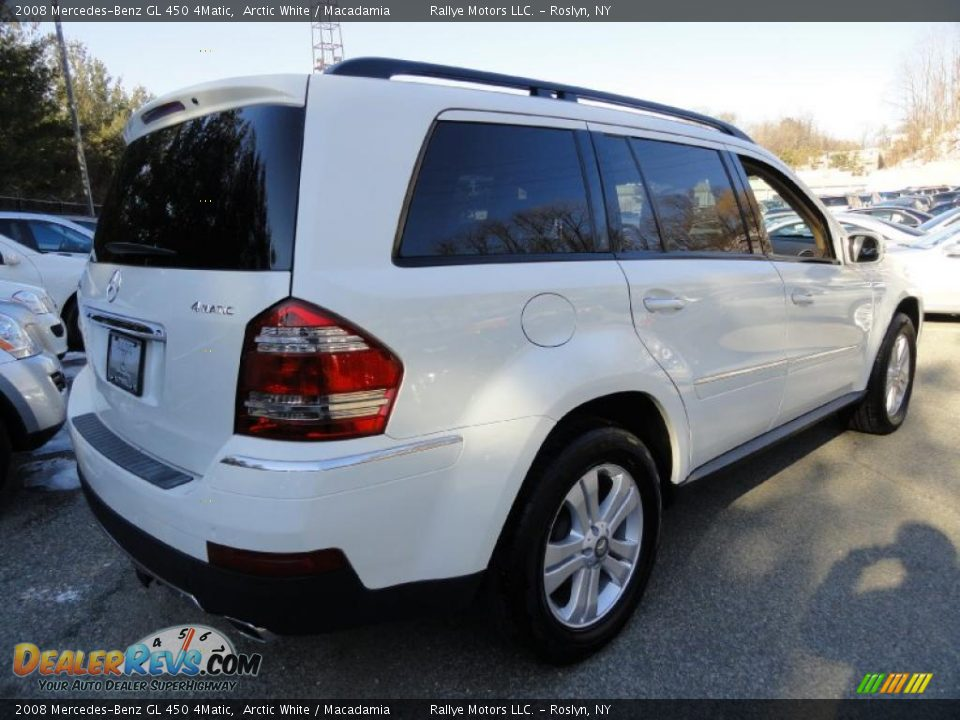 2008 mercedes benz gl 450 4matic arctic white macadamia for Mercedes benz gl 2008