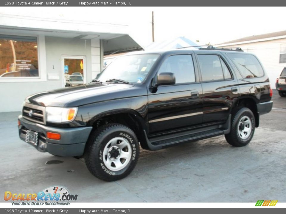 1998 Toyota 4runner Black Gray Photo 1 Dealerrevs Com