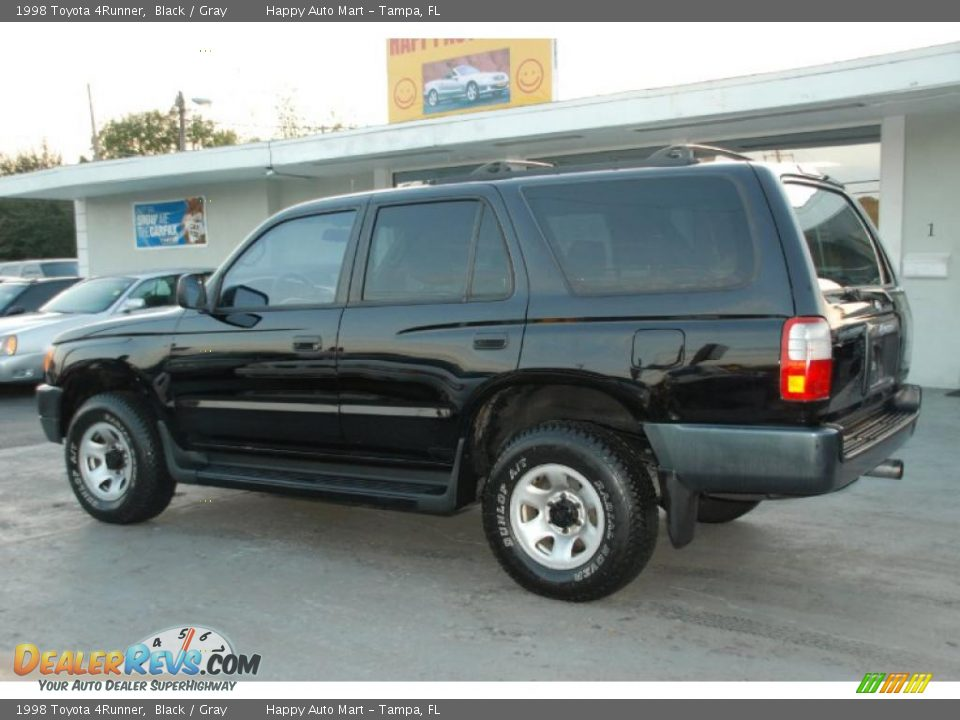 2017 Toyota 4runner >> 1998 Toyota 4Runner Black / Gray Photo #6 | DealerRevs.com