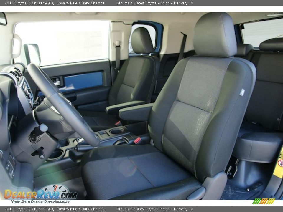 Dark Charcoal Interior 2011 Toyota Fj Cruiser 4wd Photo