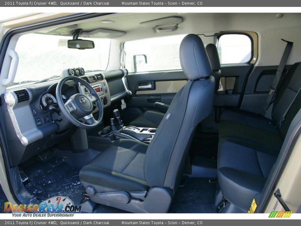 Dark Charcoal Interior 2011 Toyota Fj Cruiser 4wd Photo