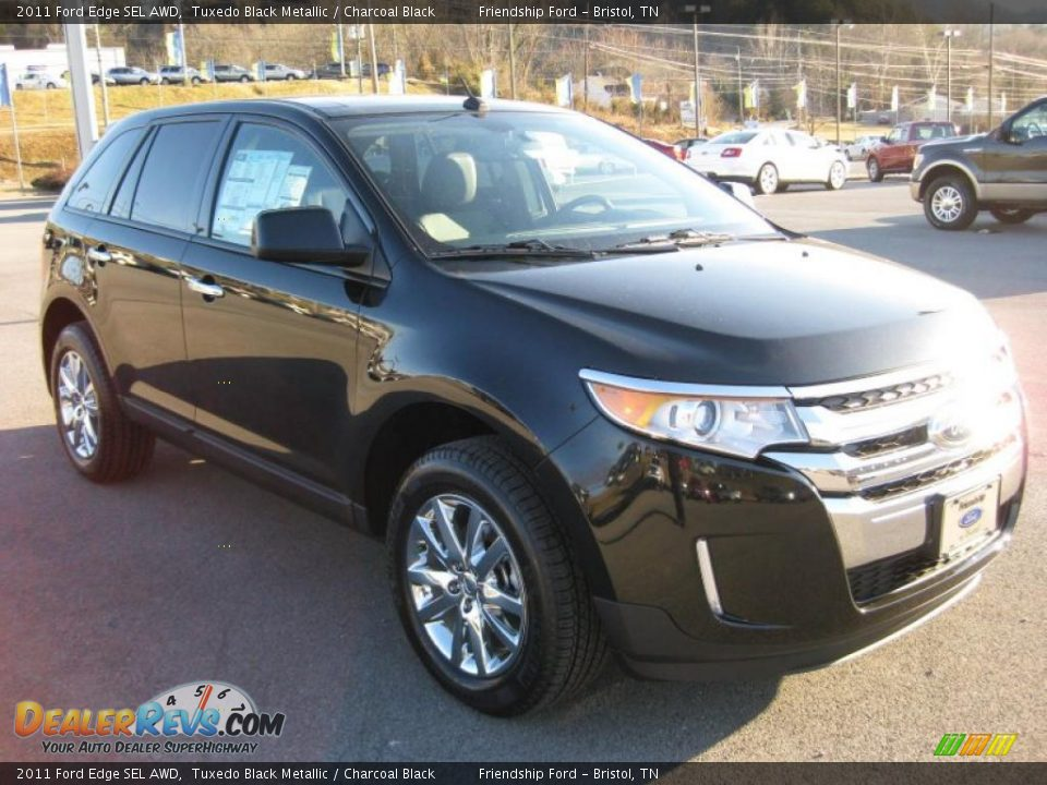 2011 ford edge sel awd tuxedo black metallic charcoal. Black Bedroom Furniture Sets. Home Design Ideas