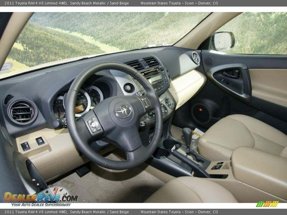 Sand beige interior 2011 toyota rav4 v6 limited 4wd for 2011 toyota rav4 interior