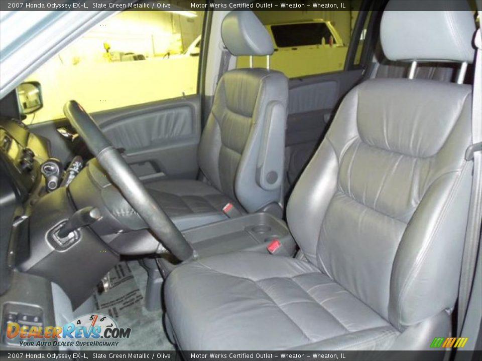 Olive interior 2007 honda odyssey ex l photo 10 for 2007 honda odyssey interior
