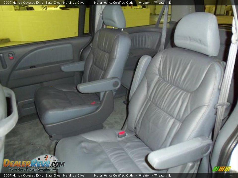 Olive interior 2007 honda odyssey ex l photo 14 for 2007 honda odyssey interior