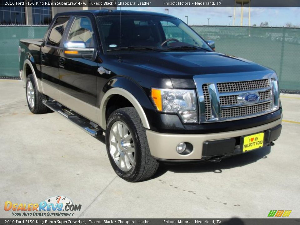 Front 3 4 view of 2010 ford f150 king ranch supercrew 4x4 for King motors auto sales