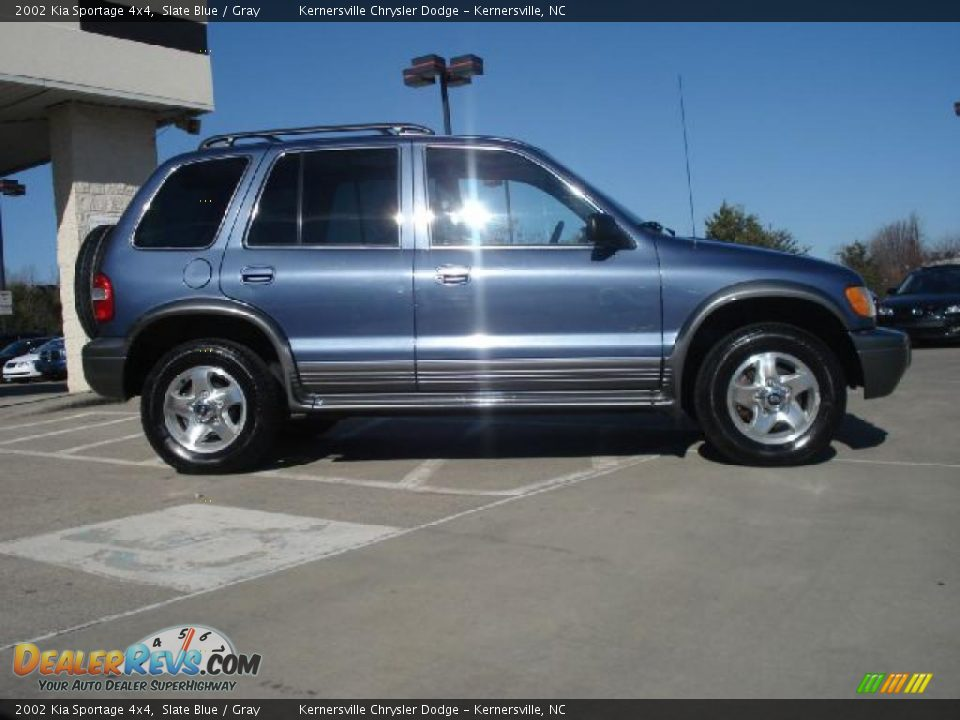 2002 kia sportage 4x4 slate blue gray photo 2. Black Bedroom Furniture Sets. Home Design Ideas