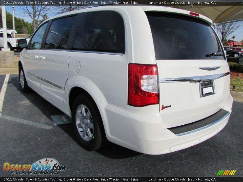 2011 chrysler town country touring stone white dark for Stone s town country motors